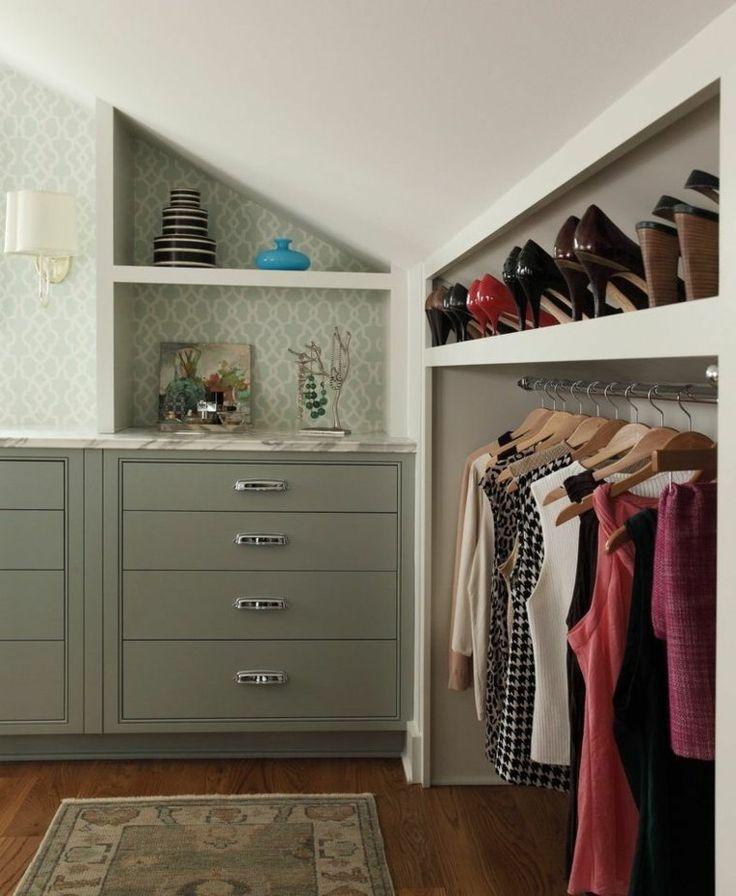1000 ideas about amenagement de placard on pinterest. Black Bedroom Furniture Sets. Home Design Ideas