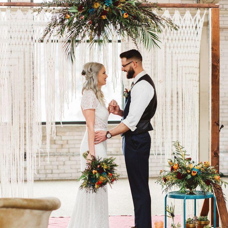 Handmade Wedding Altar: 275 Best Macrame Wedding Altar Images On Pinterest