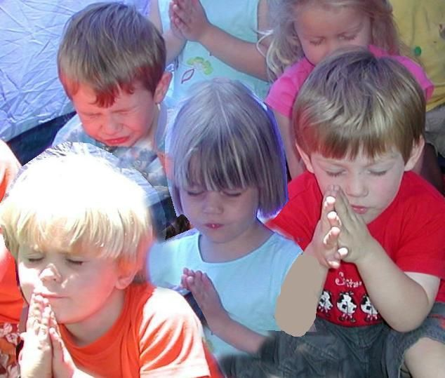 gods children praying | praying children images | The children learn about God in their day to ...