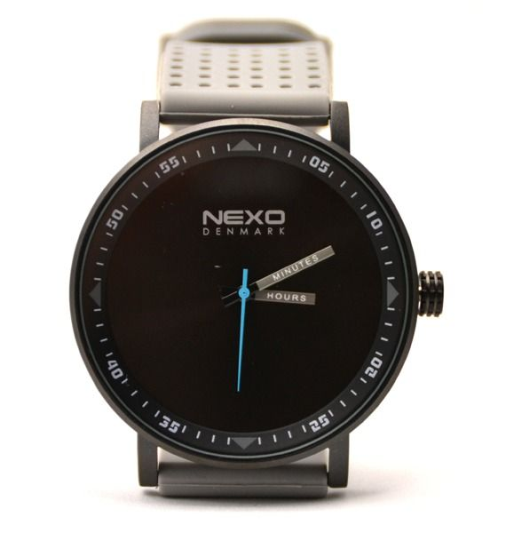 Nexo Black S Watch Grey | Krinkle
