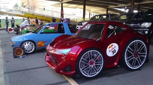 The team behind the Scion FR-S concept set its sights on the slightly more low-brow 2011 Red Bull Soapbox Race.