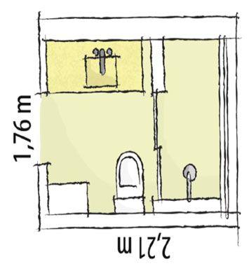 Projetos banheiros pequenos medidas pesquisa google for Cuarto de rayos x medidas
