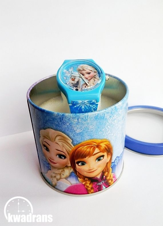 Zegarek z Elsą z Krainy Lodu // Disney's watch with Elsa from Frozen #watch #disney