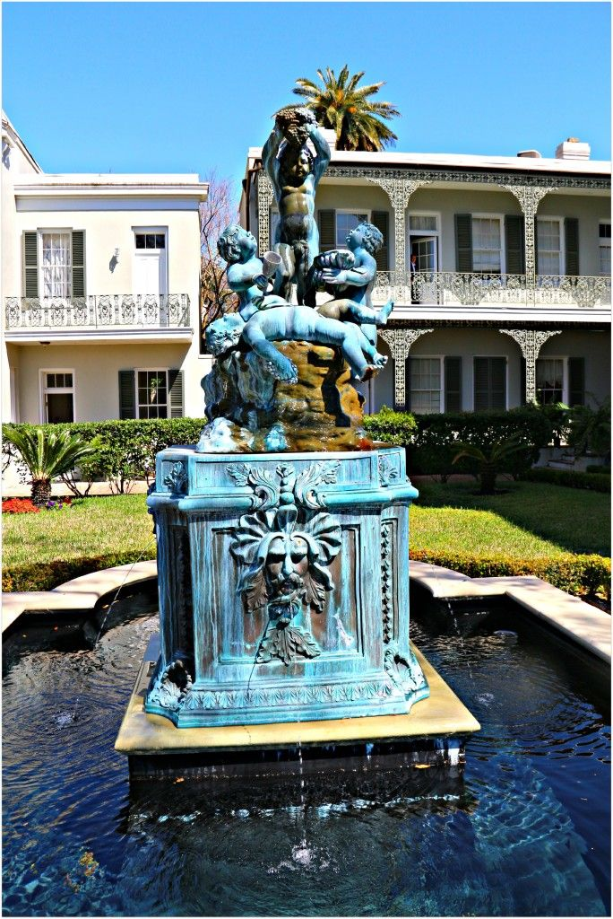 12 Best Fountains Of New Orleans Images On Pinterest Louisiana Botanical Gardens And French