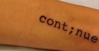 definitely adding this to the semicolon I already have...<3