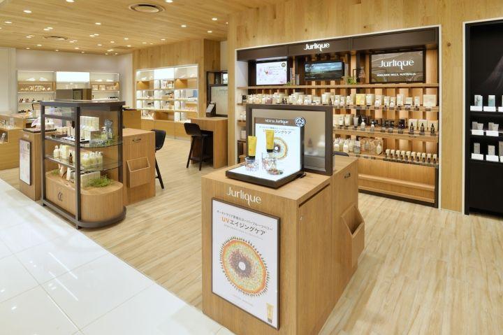 Jurlique beauty shop by curage design office, Nagoya – Japan » Retail Design Blog