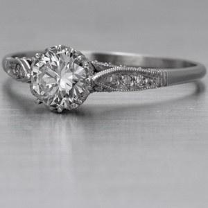 Antique engagement ring: Vintage Engagement Rings, Vintage Styles, Weddings Rings, Vintage Weddings, Diamonds, Vintage Rings, Rings Pictures, Antiques Engagement Rings, Antiques Rings