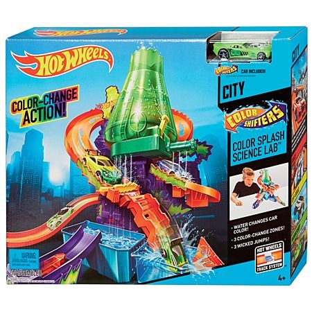 Hot Wheels Colour Shifters Science Lab Play Set