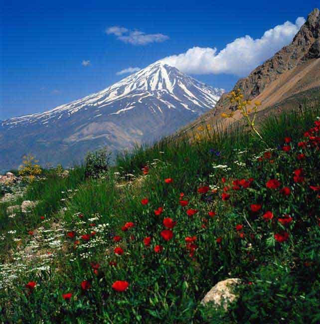 Ik droomde vannacht over een schipbreuk en toen spoelde ik aan in betoverende schoonheid van Iran : )