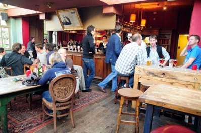 The Ship Pub, Wandsworth    41 Jews Row  London SW18 1TB  020 8870 9667    Good for eating outside in summer.