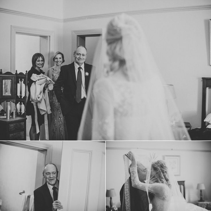 When dad sees his girl in her wedding dress...  Wade & Estelle, Clarens, Free State, South Africa || www.kikitography.com