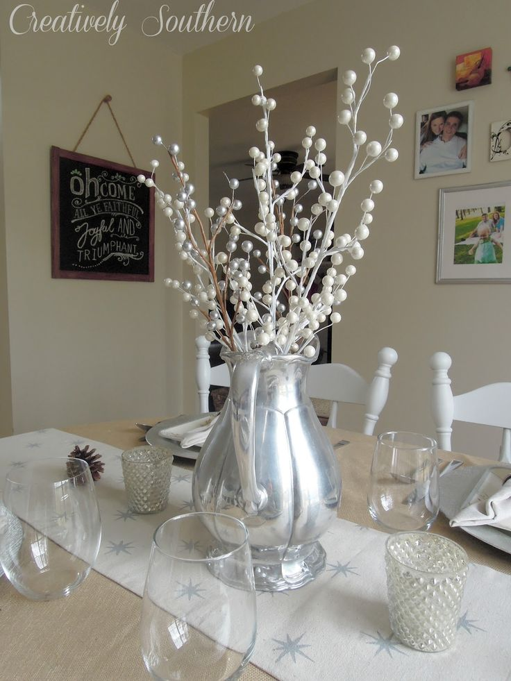 17 best images about table decor on pinterest - Decor de table noel ...
