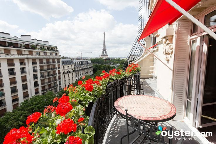 """Whether you're on your first trip to Paris or your 50th, catching a glimpse of """"La Tour Eiffel"""" will likely make your heart skip a beat. When Gustave Eiffel's wrought-iron tower debuted at the 1889 Exposition Universelle, Parisians were outraged and harshly criticized its design. But the world's first Iron Lady successfully seduced the City of Light -- and defined its skyline. Looking for a luxurious hotel to see the Eiffel Tower sparkle from your bed at night? We've got you covered. Think…"""