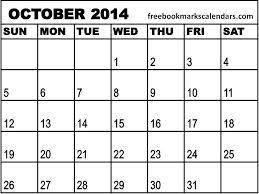October 2014 Calendar Printable & Template http://www.calendarvip.com/october-calendar.html