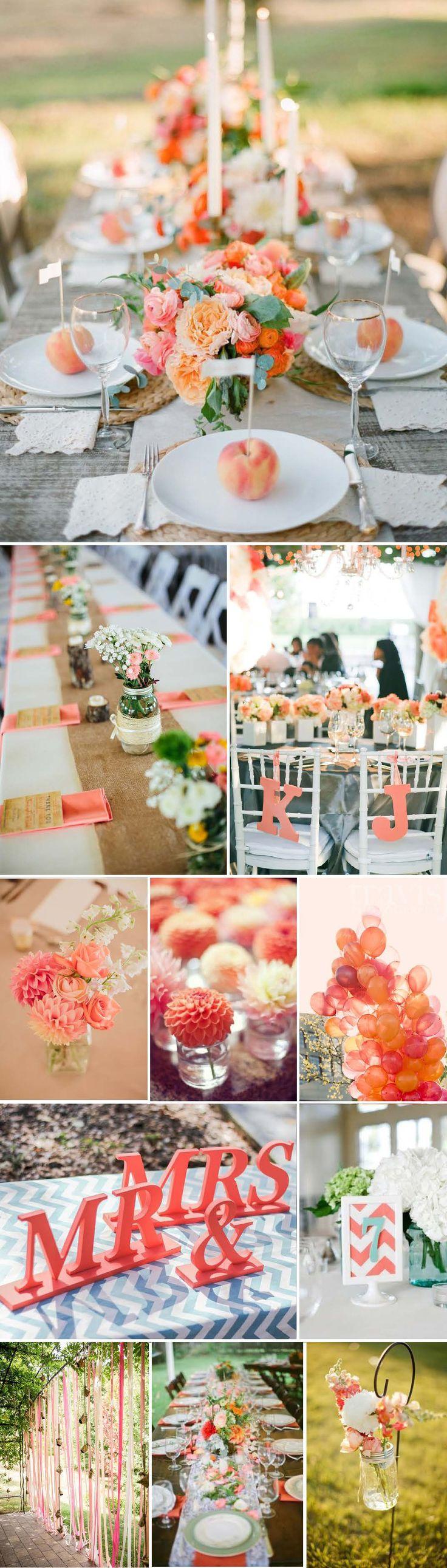 liebelein-will, Hochzeitsblog - Koralle, Farben, Hochzeit, Deko