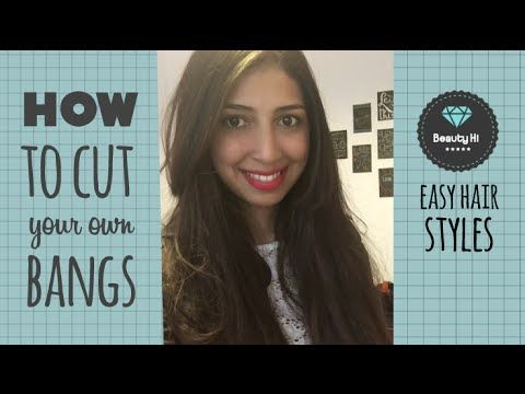 how to cut your own bangs curly hair