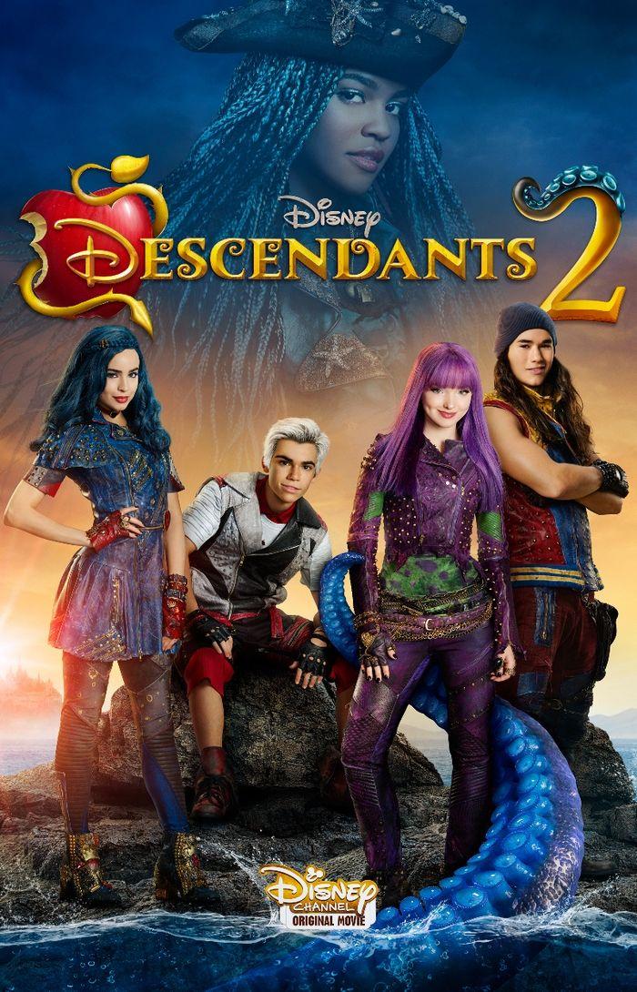 Disney's Descendants 2 movie release date premieres July 21, 2017 on the Disney Channel