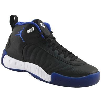 Air Jordan Jumpman Pro Basketball Shoes - Mens Black Varsity Royal