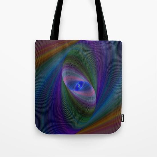 VIDA Statement Bag - Rainbow Fractal by VIDA M2gv8WX7