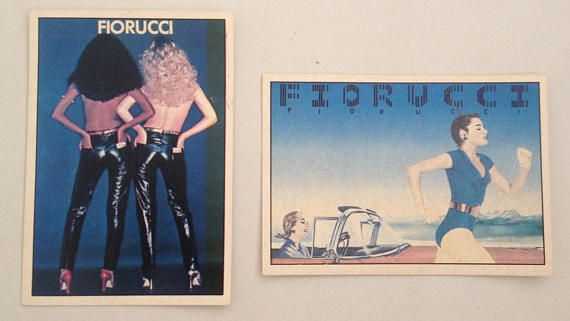 Fiorucci Sticker Fiorucci Story Panini no 26 no 45