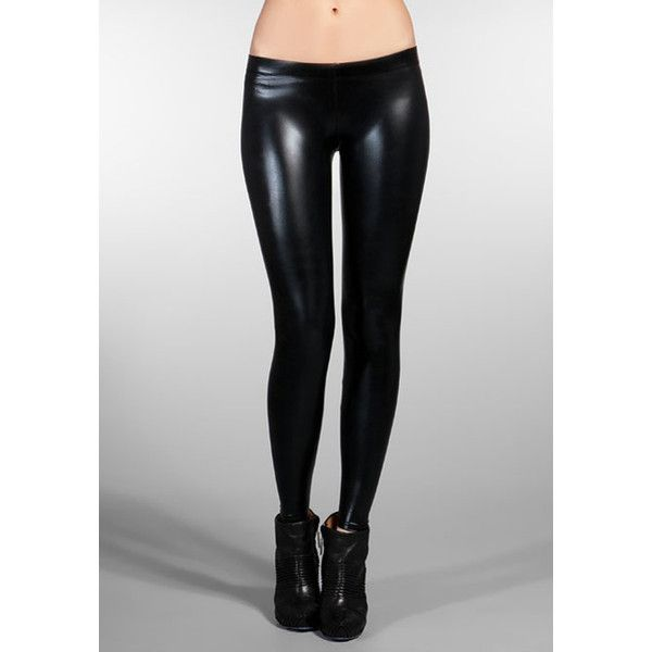 David Lerner Matte Latex Leggings in Black (€77) ❤ liked on Polyvore featuring pants, leggings, doll parts, women, david lerner pants, latex leggings, legging pants, latex pants and david lerner