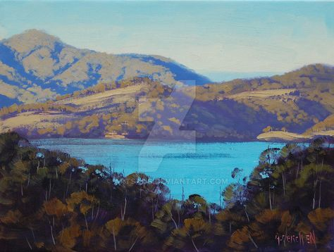 Afternoon Light Lake Lyell by artsaus.deviantart.com on @DeviantArt
