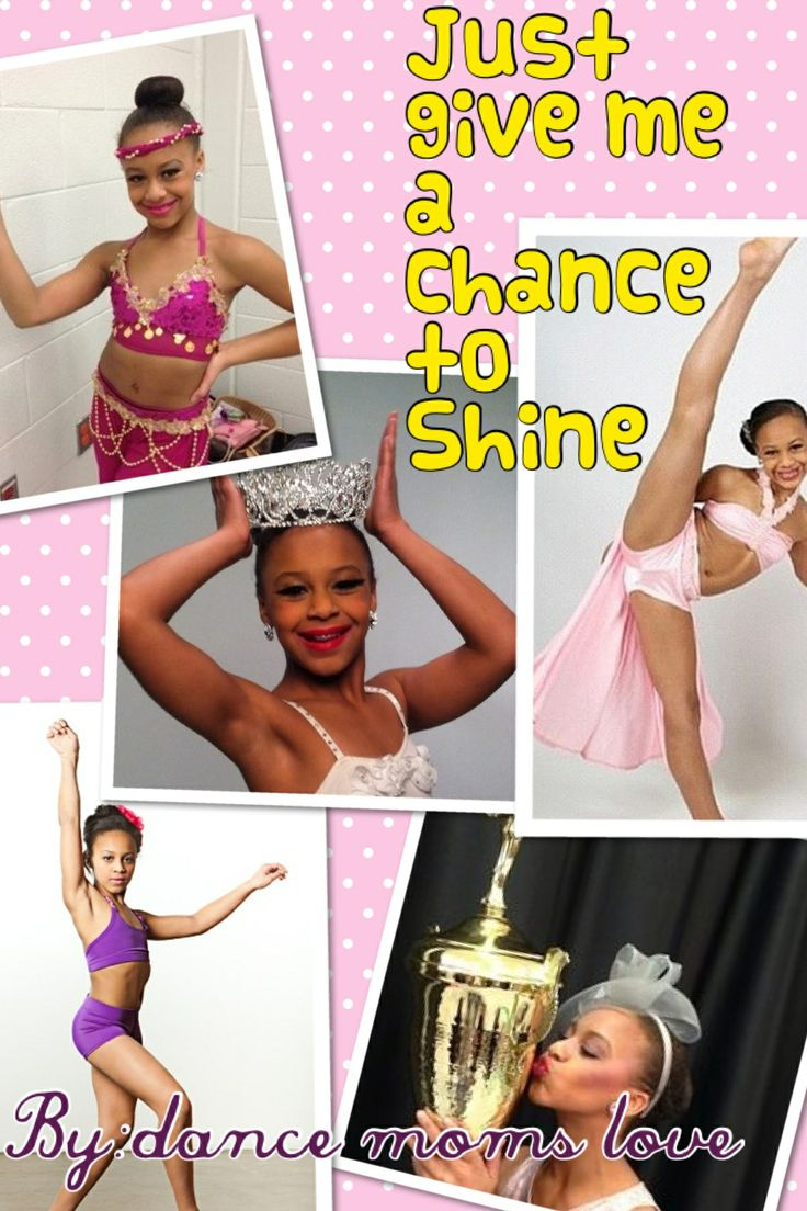 My nia edit Credit to:dance moms love