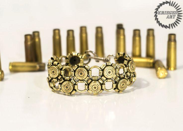 Bullet bracelet Kalashnikov rifle by MoranaDeath on DeviantArt