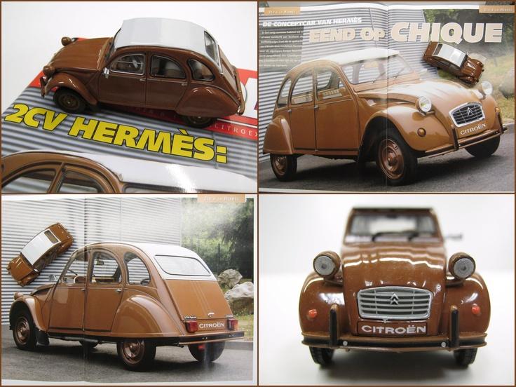 Citroën 2CV6 Hermès t.g.v. het 60-jarig bestaan van de Eend