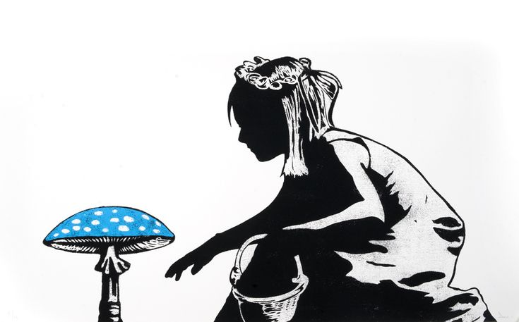 Dolk - Mushroom Girl