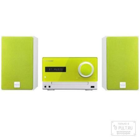 Pioneer X-CM35-N  — 14990 руб. —  Модель X-CM35 отличается возможностью простого беспроводного воспроизведения музыки, загруженной в смартфон или любое устройство с поддержкой Bluetooth. Теперь мы сможете наслаждаться любимой музыкой без проводов с помощью функции NFC. Система обеспечивает беспроводное воспроизведение музыки, программ Интернет-радио и иного контента из смартфона, цифрового аудиоплеера, компьютера или других Bluetooth устройств. Если у вас смартфон с поддержкой Bluetooth или…