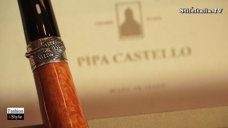 """Italian Cigar"" & ""Slow Smoking"" - ""Pipa Castello""  - ""Italian Fashion"",..."