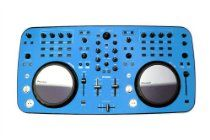 Blue Protective Vinyl Overlay Skin made to fit Pioneer DDJ-Ergo Controller