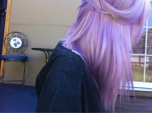 #original: Dyed Hair, Purple Hair, Hair Colors, Colored Hair, Style, Colorful Hair, Lilac, Beauty, Dream Hair