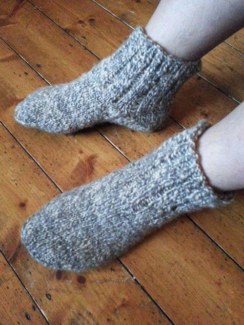 Jacobs hand spun socks