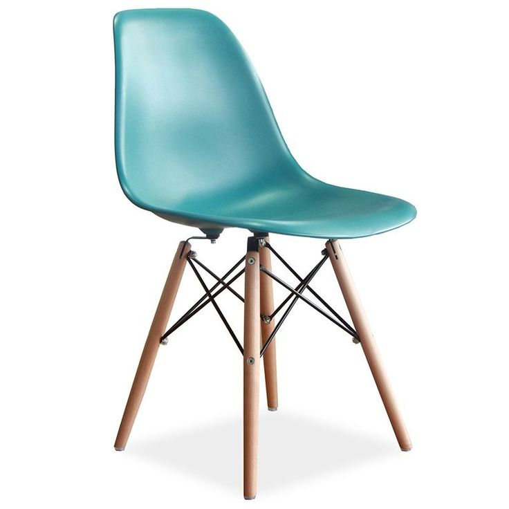 Eames Replica DSW Dining Chair Sea Green