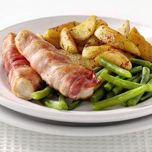Recept - Tonijn met Toscaanse aardappelpartjes -