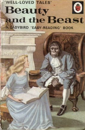 BEAUTY AND THE BEAST Vintage Ladybird Book Well Loved Tales Series 606d Matt this copy 1975 First Edition 1969