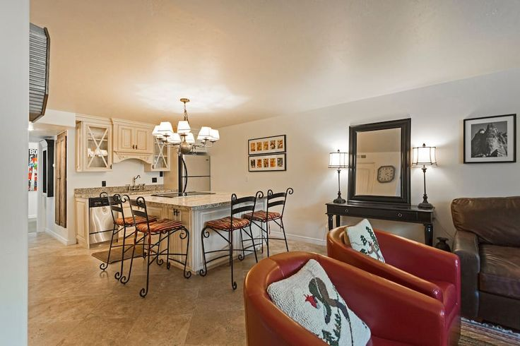 Entire home/apt in Park City, US. WALK TO NORTH AMERICA'S LARGEST SKI RESORT! We're located at the bottom of Deer Valley Drive. Walking distance to Park City Mountain Resort and Park City's Historic Main Street. This 2 Bed/2 Bath condo is perfect for a family of 4 or 2 couples. Th...