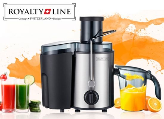 Dagaanbieding: Royalty Line Easy power juice apparaat