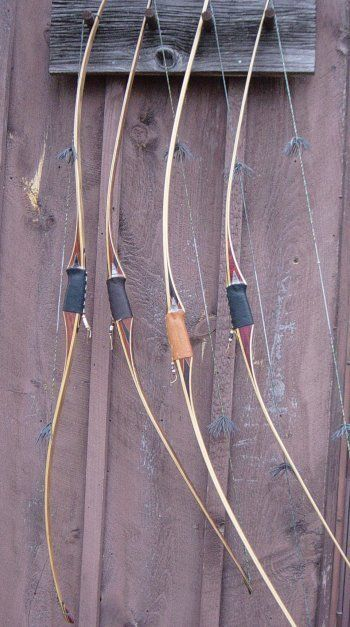 Longbows.. If I ever move away from my obsession with recurves