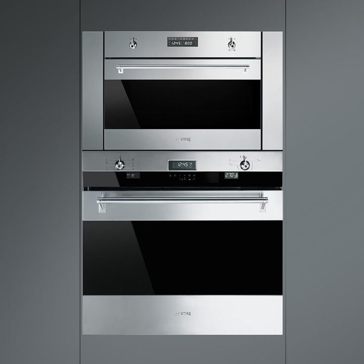 Smeg Clic 24 Inch Built In Sd Oven With 1000 Watt Microwave
