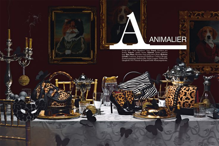 VOGUE Accessory december issue 2013.  Still life photographer Massimo Gammacurta  www.auraphotoagency.com