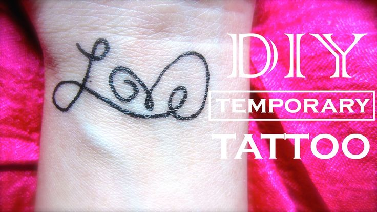 How to make a fake tattoo that looks real instead of a for How to make temporary tattoos look real