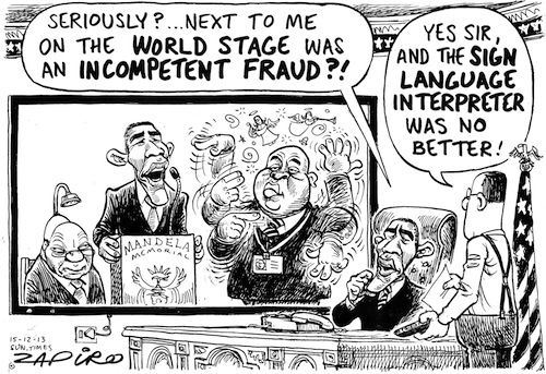 131215st - Fraudsters at Mandela Memorial