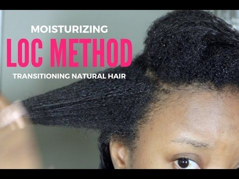 Moisturizing My Transitioning Natural Hair - LOC Method Tutorial [Video]  Read the article here - http://www.blackhairinformation.com/uncategorized/moisturizing-transitioning-natural-hair-loc-method-tutorial-video/