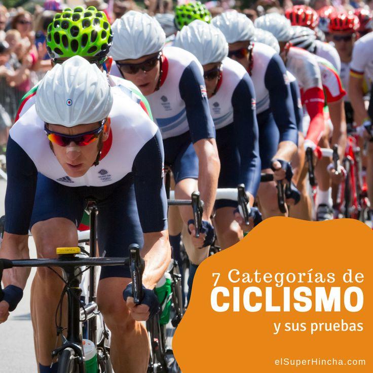 En el #DíaMundialDeLaBicicleta era casi obligatorio que hablasemos de Ciclismo. Por eso hemos querido hacer este artículo donde te contamos las 7 categorías que incluye y las pruebas de cada una de ellas. Haz clic sobre la imagen para leer el artículo. Te gustará :) -----------------------------------------  #Ciclismo #Cycling #BMX #MTB #MountainBike #Trial #Ciclocross #CiclismoArtístico #Ciclobol
