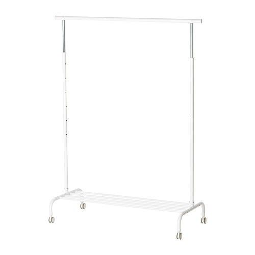 New IKEA Rigga Clothes Shoes Garment Rack Retail Boutique Store Display White | eBay