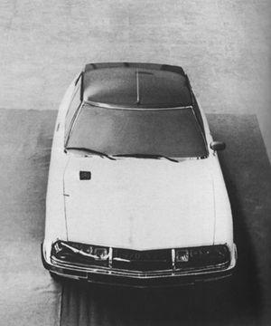 Citroën SM defintive pre-production prototype
