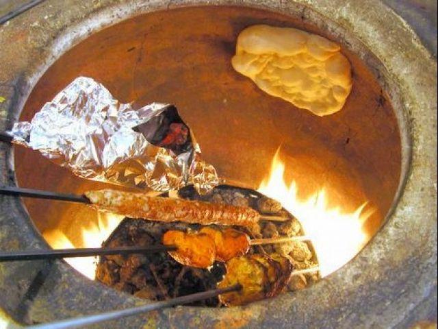 тандыр печь на даче